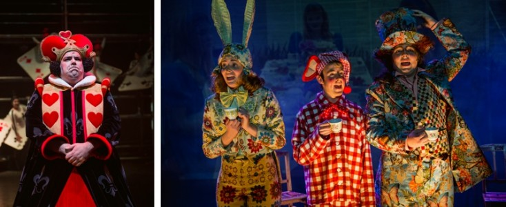 Foto's Alice in Wonderland
